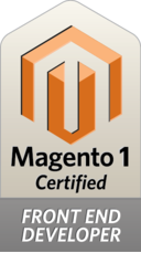 Certified Magento1 Front End Developer