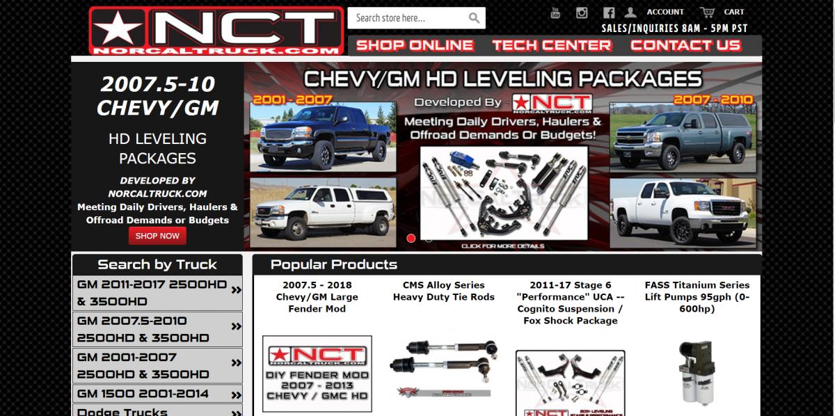 NorCalTruck.com Buy Online