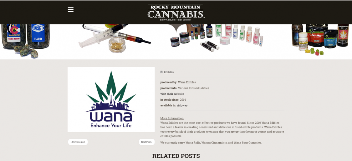 Rocky Mountain Cannabis Brands